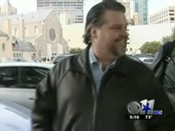 """Roofer"" Shawn Tatum, a convicted thief, is the spur that began Watchdog Nation. Photo courtesy of CBS11"