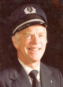 Captain George Kahak. He died in 2010.