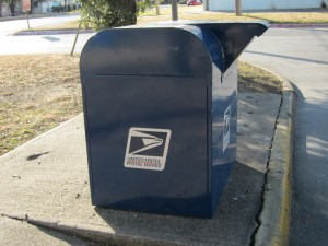 Don't use these mailboxes anymore. Mail gets stolen from them, and authorities might not tell you.