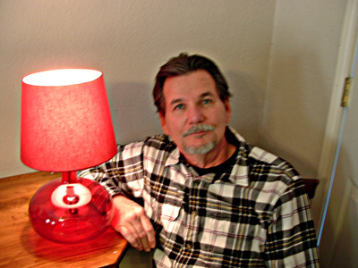 The guest columnist and his lamp