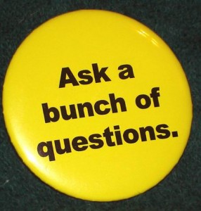 Dave Lieber's popular button was written about in USA Today.