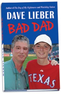 Bad Dad book by Dave Lieber betting great reviews