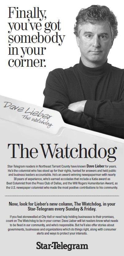 Dave Lieber, award-winning investigative columnist