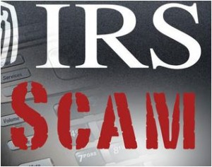 IRS phone scam