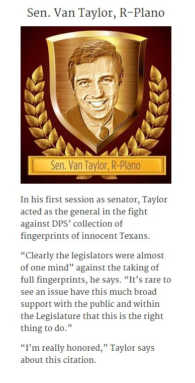 Van Taylor Hall of Fame plaque